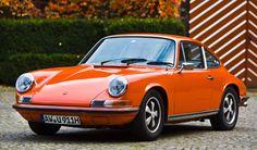911T from 1973. First paint   #Porsche #911 #911T #Bloodorange #Porsche911