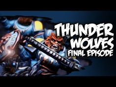 How to Paint [Space Wolves] Thunder Wolf Calvary - FINAL - YouTube