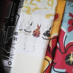 to September 2017 when I asked which combo you like best! 5 or Swipe left➡Still on seeing my first designs come to life through in Fabric: Lines & Crossroads (Black & White), UTurn (Yellow), Bloom (Yellow & EggBlue) Textile Design, Fabric Design, Surface Pattern Design, One Design, Fabric Art, Fabric Patterns, Custom Fabric, How To Plan, How To Make