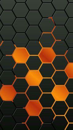 Iphone wallpaper background orange black octagon pattern 7 8 x 3d Wallpaper Black, Wallpaper Texture, 3d Wallpaper For Mobile, Abstract Iphone Wallpaper, Orange Wallpaper, Black Wallpaper, Cool Wallpaper, Pattern Wallpaper, Wallpaper Backgrounds