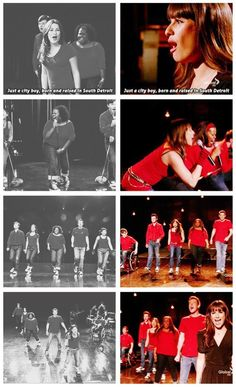 Don't Stop Believing recreated was so amazing  it was perfect!!! This is why I love this show!!!!! :)