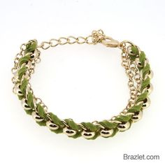 Fashion Jewelry 4 rangées en Bois Perles Chaîne Stretch Bracelet Bijoux 0039