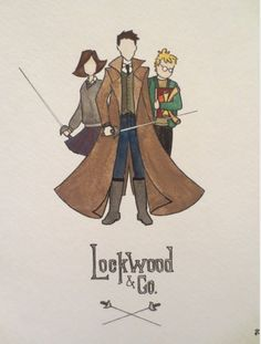 Awesome Lockwood and co water color art