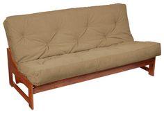 Contemporary Sofa Futon Beds Queen Size Brown Color