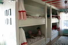 Awesome homemade bunk bed idea!!