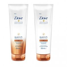 Dove Quench Absolute Shampoo and Conditioner, £5.99 each