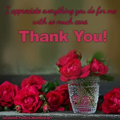 Thank You Wishes, Cute Thank You Cards, Thank You Greetings, Thank You Notes, Cool Cards, Romantic Messages, Beautiful Red Roses, Just The Way, Card Sizes