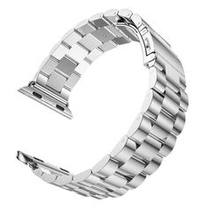 Newest ! Hot Sale Best Promotion Stainless Steel Watch Bands Watch Strap Bracelet for Apple Watch for iwatch Apple Watch ベルト, Apple Watch Silver, Apple Watch Bands, Ipad Mini ケース, Apple Watch Stainless Steel, Apple Watch Accessories, Wearable Device, Beautiful Watches, Metal Buckles
