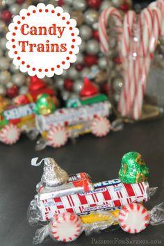 lifesaver candy trains