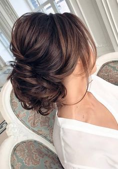 Long wedding updos and hairstyles from Elstile #bridal #weddingideas #weddinghairstyles #bridalhair #wedding / http://www.deerpearlflowers.com/new-long-wedding-hairstyles-updos/2/