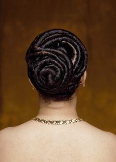 Flat Twist Bun Hairstyles www.essenceofbraiding.com