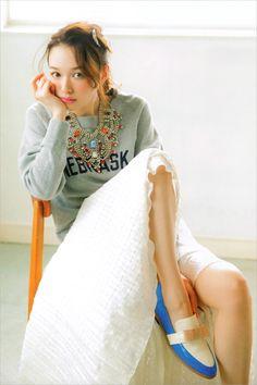 """licoricewall: """" 森絵梨佳 (Erika Mori): Soup magazine """""""