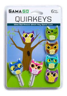 Apt Owl Key Caps, #ModCloth