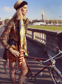 Tour de France: Charlene Hogger for Elle Magazine by David Burton