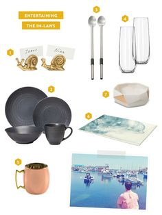 Prepping your home to entertain with the in-laws: http://www.stylemepretty.com/2015/04/20/my-target-registry-entertaining-our-way/
