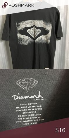 3ea3f6ca9 Vintage diamond supply tee Vintage diamond supply co tee size XL made in  USA with nice