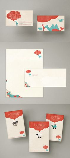 Quite Lovable branding and stationery