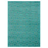 Found it at AllModern - Halton Too Aqua Solid Area Rug