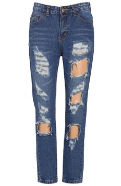 Shop Dark Blue Pockets Hollow Denim Pant online. Sheinside offers Dark Blue Pockets Hollow Denim Pant & more to fit your fashionable needs. Free Shipping Worldwide!