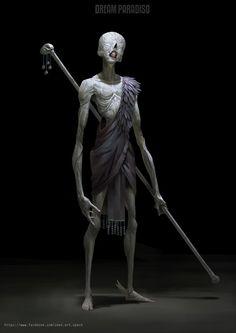 The incredible fantasy world imagined by digital painter Zeen Chin Fantasy Words, Dark Fantasy Art, Dark Art, Digital Painter, Digital Art, Digital Paintings, Arte Horror, Horror Art, Monsters Rpg