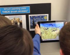 Very cool for the classroom. Augmented Reality with Aurasma app.  Includes how-to demo.