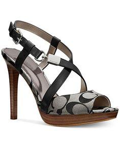 COACH WENDELLE SANDAL - Coach Shoes - Handbags & Accessories - Macy's