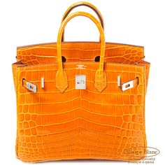 f057d74d43be Rouge Blanc AOYAMA  Hermes Birkin 25 gingerbread niloticus Lycee S bracket  HERMES Pain D   epice Crocodile Niloticus Lisse - Purchase now to  accumulate ...