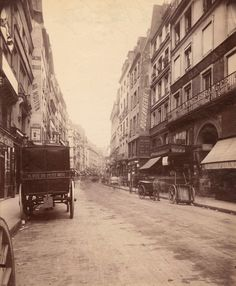 """""""For more than twenty years by my own work and personal initiative, I have gathered from all the old streets of Vieux Paris photographic plates, 18 x 24 format, artistic documents of the beautiful civil architecture of the 16th to the 19th century: the old hôtels, historic or curious houses, beautiful facades, beautiful doors, beautiful woodwork, door knockers, old fountains... This vast collection is today complete. I can truthfully say that I possess all of Vieux Paris."""" - Eugene Atget"""