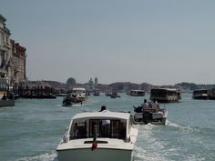 The Grand Canal, which I considered the freeway of Venice, when there ...