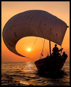 *Sunset (by Dana Allen)