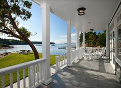OUTDOOR ROOM – Another great example of elegant design for a coastal look or nautical lifestyle.
