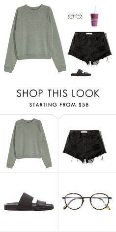"""Untitled #1572"" by tayloremily218 on Polyvore featuring Abercrombie & Fitch, Helmut Lang and Frency & Mercury"
