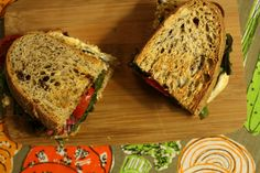 Baked Eggplant and Mozzarella Sandwiches with Chard and Tomato @ How to Ice a Cake