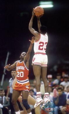 Keith Smart - Indiana and Sherman Douglas - Syracuse