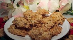 Corn flakes folded into the batter give these coconut macaroons an interesting and crunchy twist.