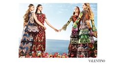 Gipsy / Folklore style by #Valentino - I love it - 2015