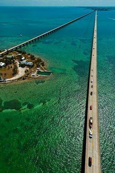 7 mile bridge, Key West , Fl