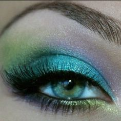 mermaid makeup!