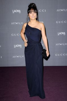 Salma Hayek at the LACMA 2012 Art + Film Gala