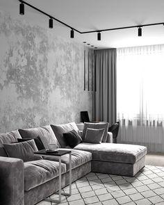 Home Room Design, Home Interior Design, Living Room Designs, House Design, Luxury Bedroom Design, Interior Ideas, Ikea Living Room, Living Room Interior, Living Rooms