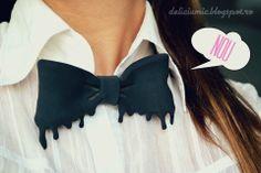 "Papion Unisex "" Flowing black Bow Tie"" Black Bow Tie, Jewels, Unisex, Fashion, Moda, Jewerly, Fashion Styles, Gemstones, Fashion Illustrations"