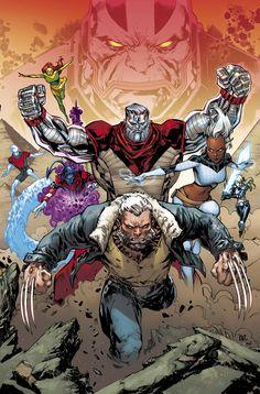 EXTRAORDINARY X-MEN #8//Ken Lashley/L/ Comic Art Community GALLERY OF COMIC ART