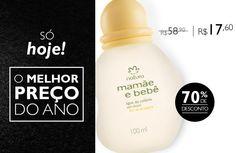 BLACK FRIDAY NATURA Colônia Mamãe e Bebê Flor de Laranjeira, de R$58,90 - Por apenas R$17,40