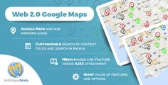Web 2.0 Google Maps plugin for WordPress