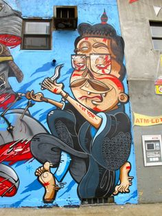 Great Wall Paintings by Yok