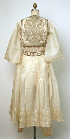 Turkish wedding dress and vest. Turkish Fashion, Ethnic Fashion, Fashion Goth, Steampunk Fashion, Historical Costume, Historical Clothing, Renaissance Clothing, Turkish Wedding Dress, Empire Ottoman