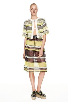 No one does stripes quite like @missoni #LFW #SS15