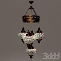 Turkish style chandelier