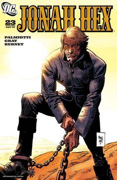 Fumetti Etruschi: Jonah Hex 23: Who Lives and Who Dies (2007)  https://fumettietruschi.wordpress.com/2015/04/13/jonah-hex-23-who-lives-and-who-dies-2007/ #western #comic #comics #westerncomic #JonahHex #weirdwest
