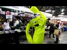 Wacky waving inflatable arm flailing tube man...the cosplay. Best. Ever!